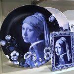 Delfts blauwe borden, Heinen, Parelmeisje Vermeer