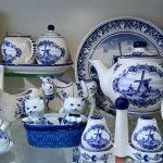 Delfts blauw servies van Heinen