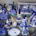 Delfts blauwe molens en tafelbellen