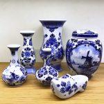 Hamilton tobacco & gifts - Delfts blauw - Vazen, klomp, voorraadpot, Royal Delft