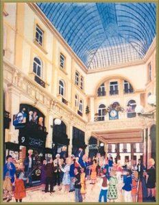 Hamilton tobacco & gifts - schilderij Passage Den Haag