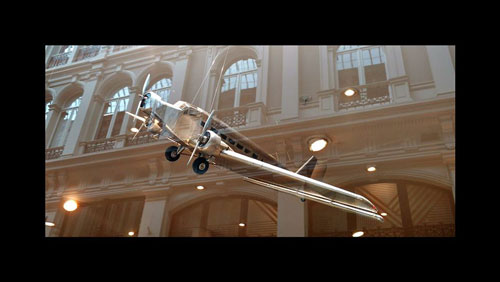 Hamilton tobacco & gifts - home deco - Aluminium vliegtuig