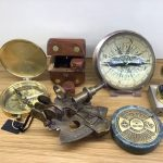 Hamilton tobacco & gifts - home deco - kompassen en sextant