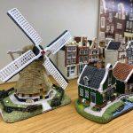 Molen en huisjes van Amsterdam Streets