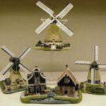 Miniatuur molens van Amsterdam Streets