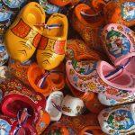 Traditionele Hollandse miniatuur klompen