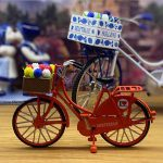 miniatuur fietsjes in vrolijke kleuren